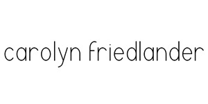 Carolyn Friedlander Logo