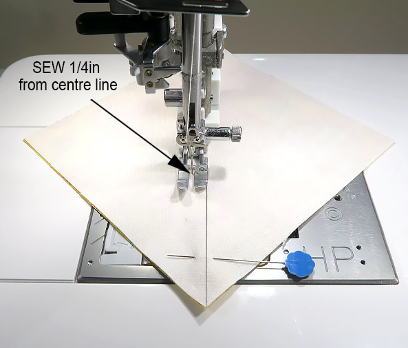 Stash Busting Quilt - Sew Along - Block 1