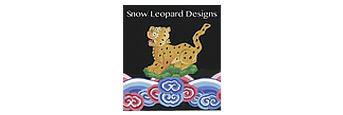 Snow Leopard Designs Fabric