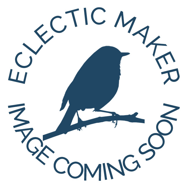 Peacock Feather Ribbon in Navy - 25mm