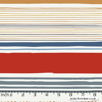 Art Gallery Fabrics - Aligned - Line Study Knit