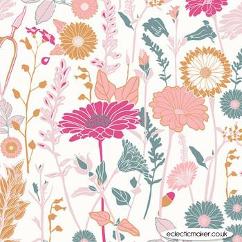 Art Gallery Fabrics Flower Field Bachelorette in KNIT by Bonnie Christine
