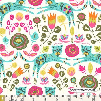Art Gallery Fabrics Tigris Lollipop in KNIT by Jessica Swift