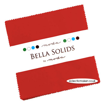 Moda Charm Pack in Christmas Red