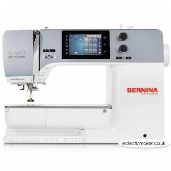 Bernina 570QE Sewing Machine