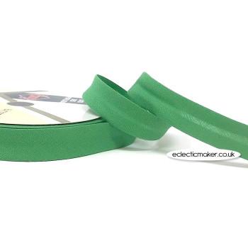 Bias Binding in Leaf Green - 18mm