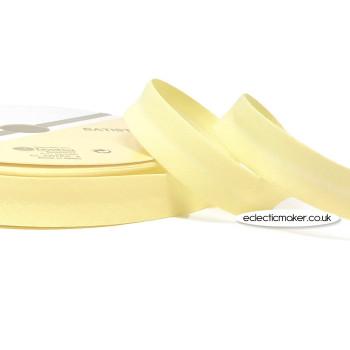 Bias Binding in Pale Lemon - 18mm