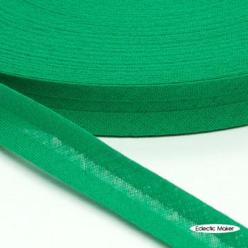 Bias Binding in Emerald - 15mm