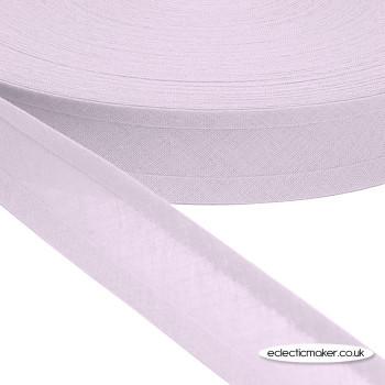 Bias Binding in Lilac - 25mm