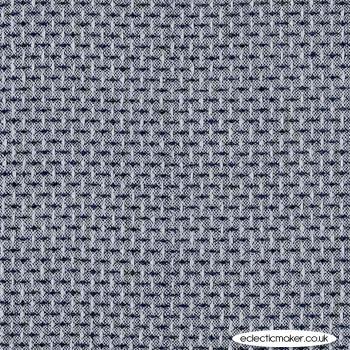 Blank Fabrics - Intermix - Cotton Dobby in Black Check