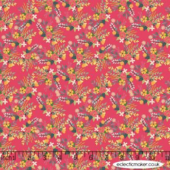 Blend Fabrics - Birdie - Amore in Raspberry
