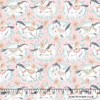 Blend Fabrics - Hill & Dale - Fillies in Pink