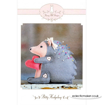 Bunny Hill Designs - Bitty Hedgehog Pincushion Pattern