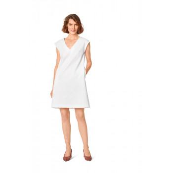 Burda Pattern 6048 Misses' Shift Dress with V-Neck