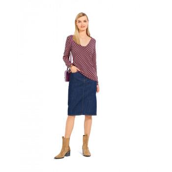 Burda Pattern 6075 Misses' Top & Dress with V-Neck