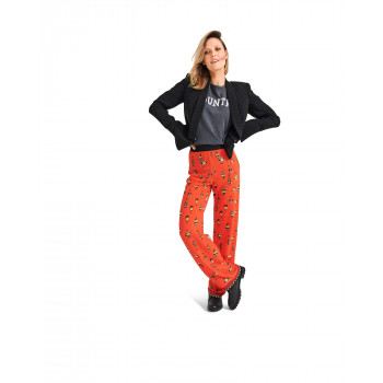 Burda Pattern 6085 Misses' Straight Leg Pants / Trousers with Stretch Waistband