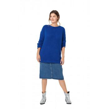 Burda Pattern 6093 Misses' Pullover with Deep Back Neckline, Slit & Bow