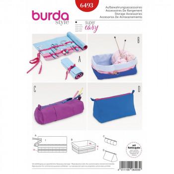 Burda Pattern 6493 - Storage Accessories