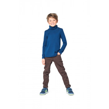 Burda Pattern 9272 Childrens Top & Dress with Roll Neck Collar