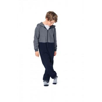 Burda Pattern 9275 Childrens Jumpsuit and Onesie with Hood.