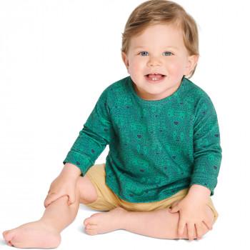 Burda Pattern 9277 Babies' Top & Dress