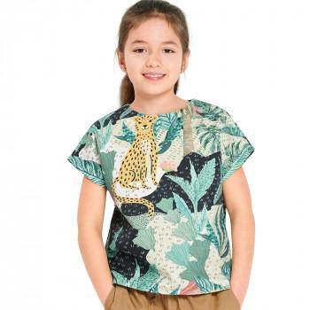 Burda Pattern 9282 Childrens Top & Dress