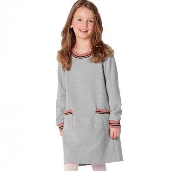 Burda Pattern 9286 Childrens Dress - Shirtdress with Band Finishing