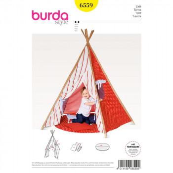 Burda Pattern 6559 - Tipi Tent