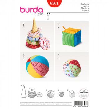 Burda Pattern 6561 - Baby Play Toys