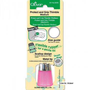 Clover Thimble Protect & Grip - Medium