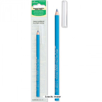 Clover Iron-On Transfer Pencil - Blue