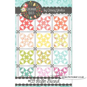 Coriander Quilts - Hello Friend Pattern
