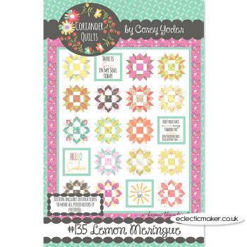 Coriander Quilts - Lemon Meringue Pattern