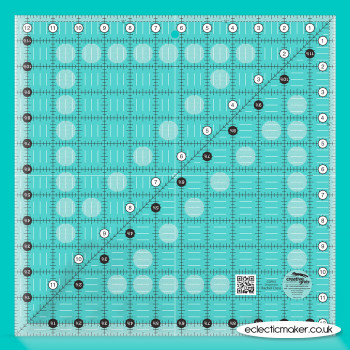 Creative Grids - 12 1/2 inch Square Patchwork Ruler
