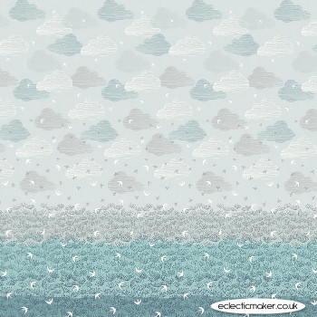 Dashwood Studio Fabrics - Elements Single Border Print