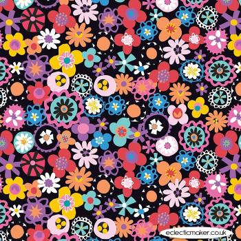 Dashwood Studio - Fiesta - Flowers in Multi