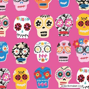 Dashwood Studio - Fiesta - Sugar Skull on Pink