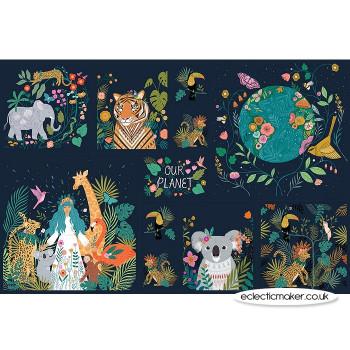 Dashwood Studio - Our Planet Fabric Panel