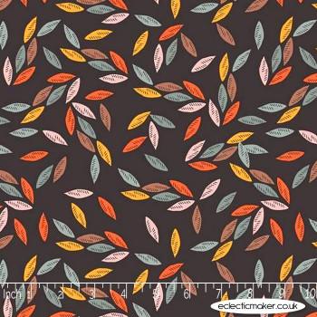 Dashwood Studio - Ravishing Rayons - Falling Leaves on Charcoal
