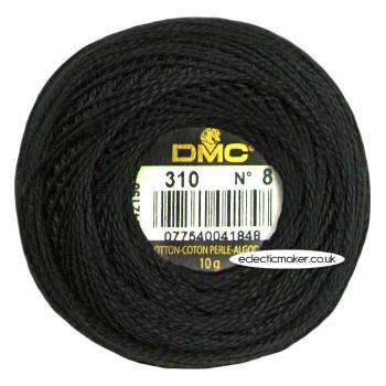DMC Perle Cotton Thread Ball No.8 - 310