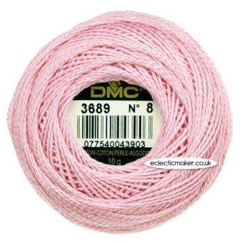DMC Perle Cotton Thread Ball No.8 - 3689