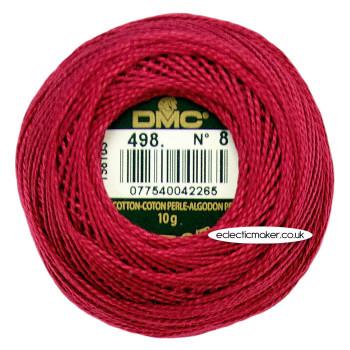 DMC Perle Cotton Thread Ball No.8 - 498