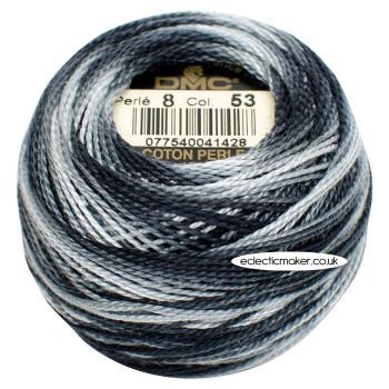 DMC Perle Cotton Thread Ball #8 - 53