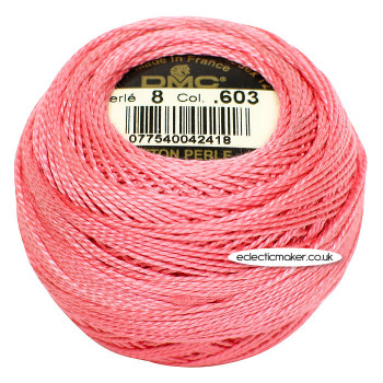DMC Perle Cotton Thread Ball #8 - 603