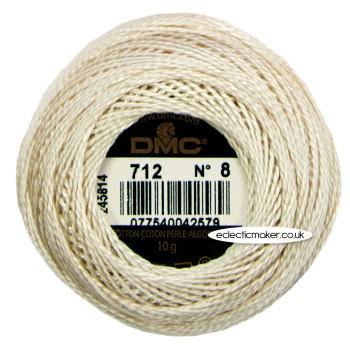 DMC Perle Cotton Thread Ball No.8 - 712