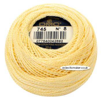 DMC Perle Cotton Thread Ball No.8 - 745