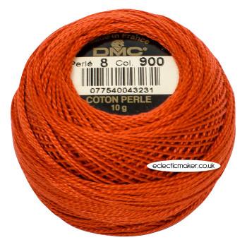 DMC Perle Cotton Thread Ball #8 - 900