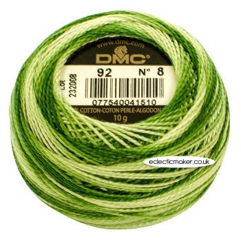 DMC Perle Cotton Thread Ball #8 - 92