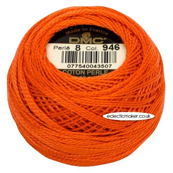 DMC Perle Cotton Thread Ball #8 - 946