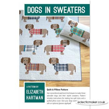 Elizabeth Hartman - Dogs in Sweaters Pattern